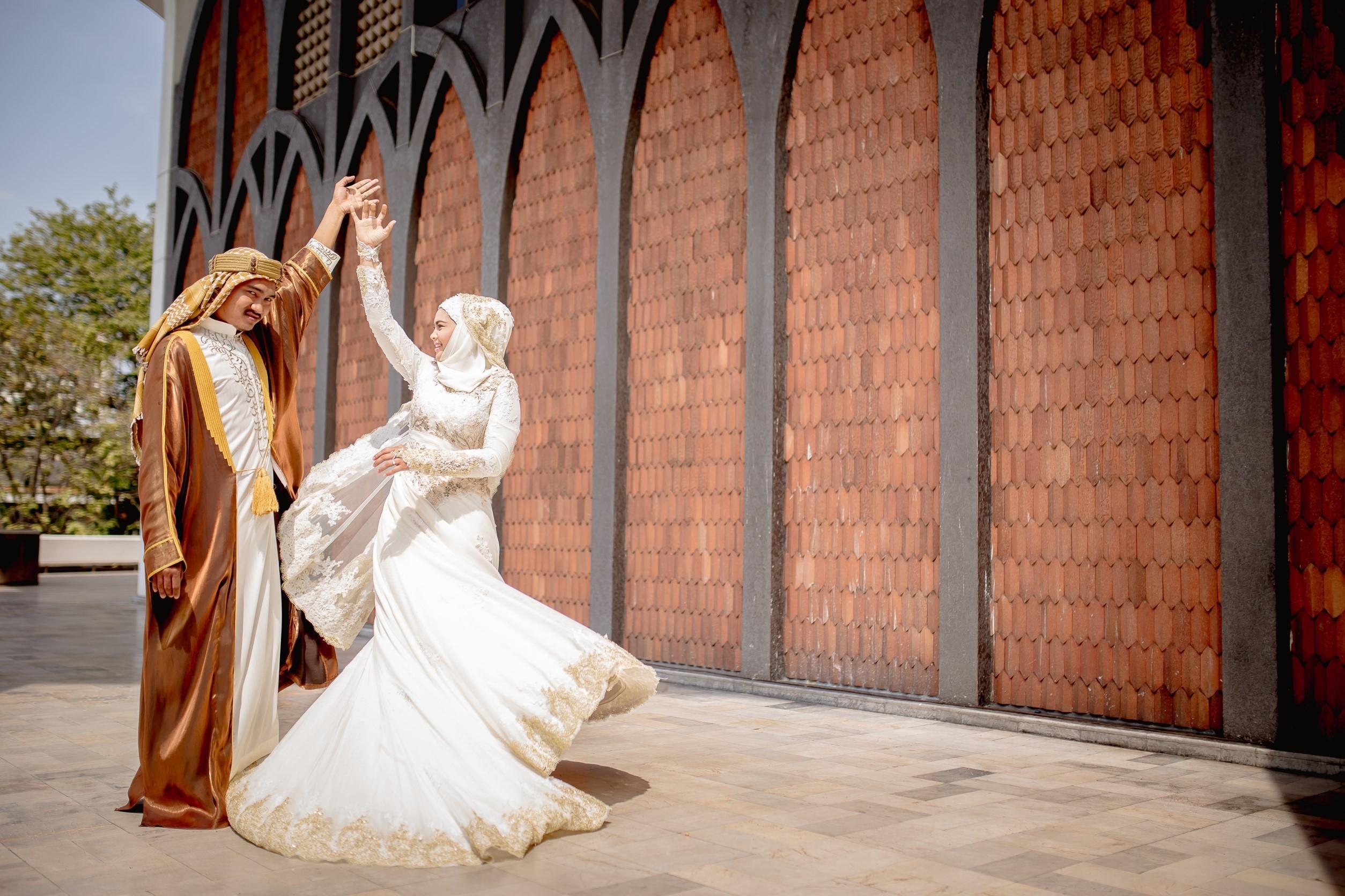ถ่ายภาพแต่งงานอิสลาม พรีเว็ดดิ้งอิสลาม prewedding
