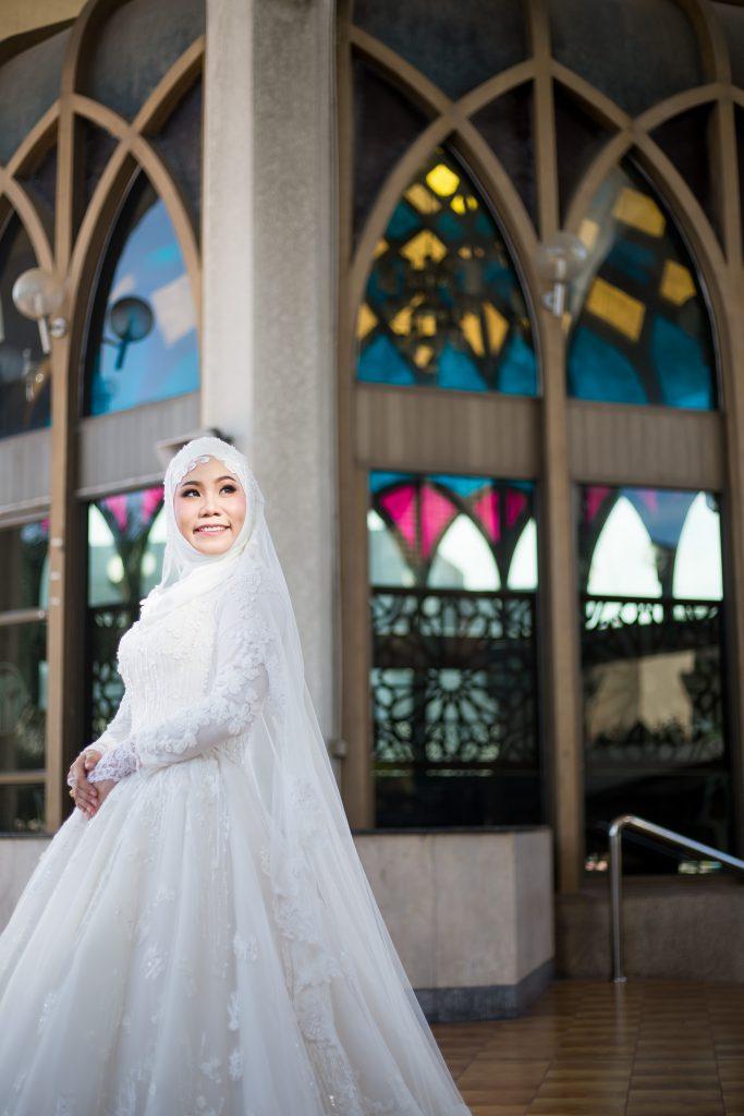 พิธีแต่งงานอิสลามของ คุณHusna&Haris ที่จัดขึ้นที่ศูนย์กลางอิสลาม