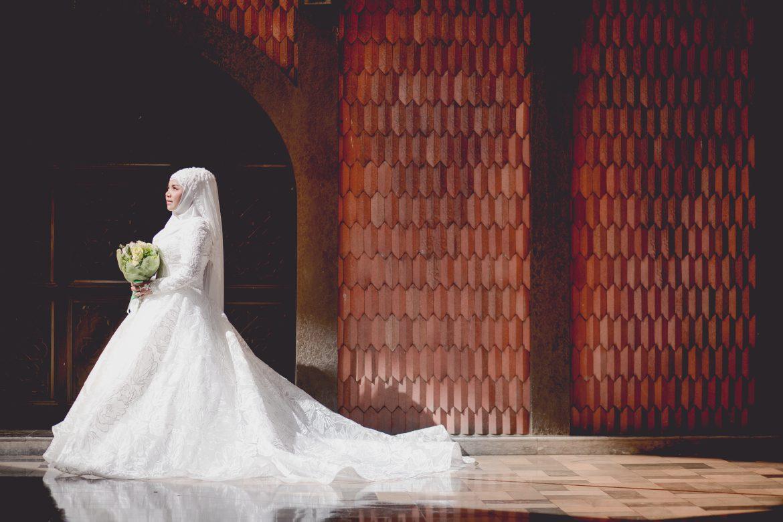 ถ่ายรูปแต่งงาน ชุดแต่งงานอิสลาม