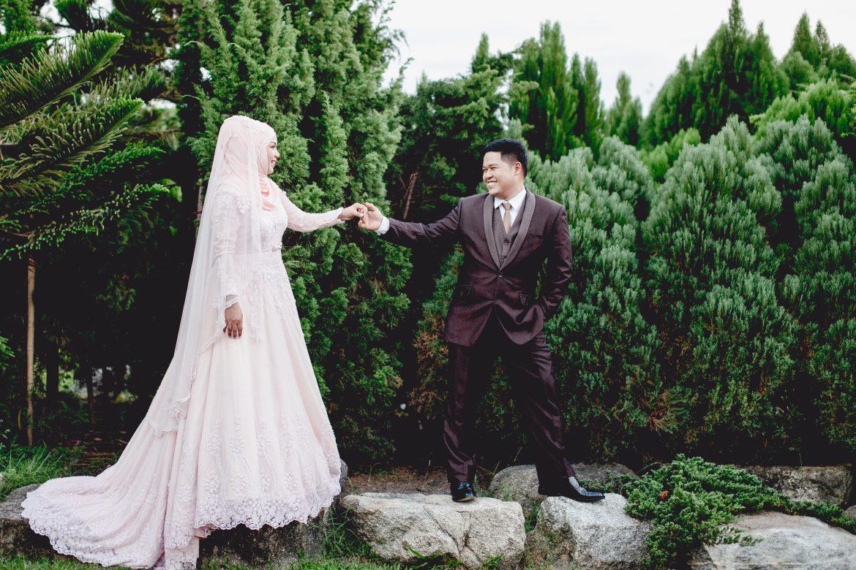 พิธีแต่งงานอิสลาม ชุดแต่งงานอิสลาม