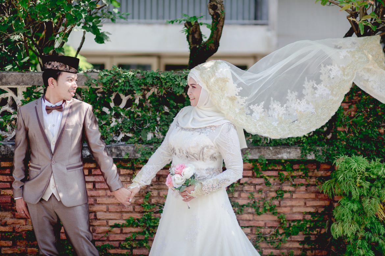 ถ่ายภาพแต่งงาน ชุดแต่งงานอิสลาม