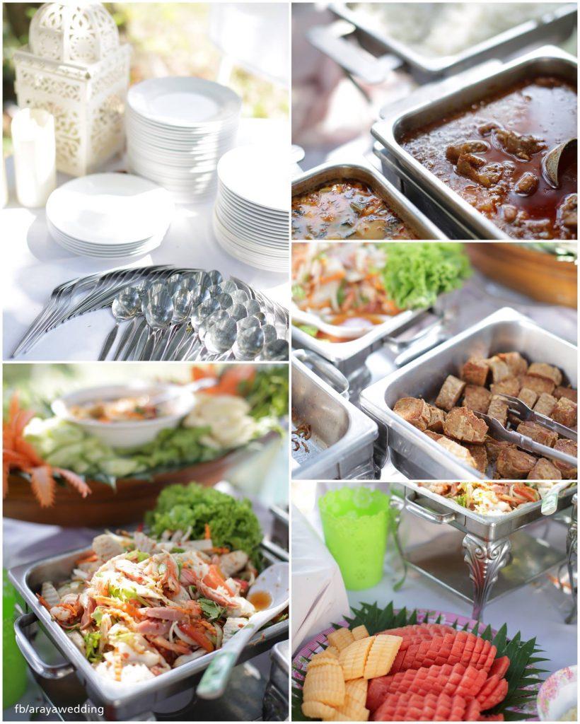 อาหารงานแต่งอิสลาม