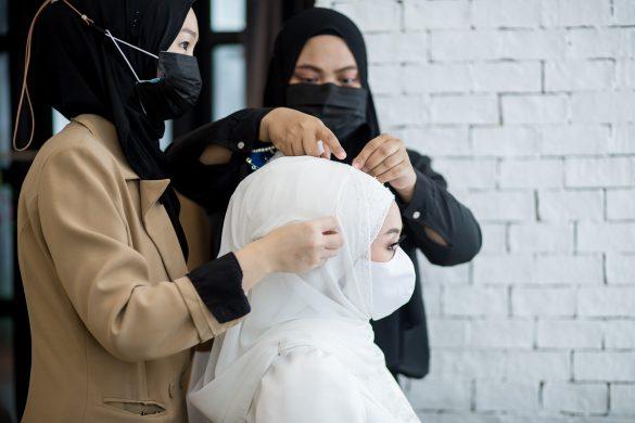 คลุมผมเจ้าสาวอิสลาม